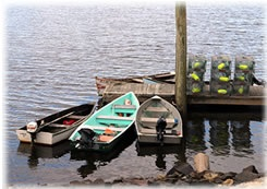 Small fishing/ lobster boats